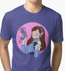 d.va overwatch Tri-blend T-Shirt