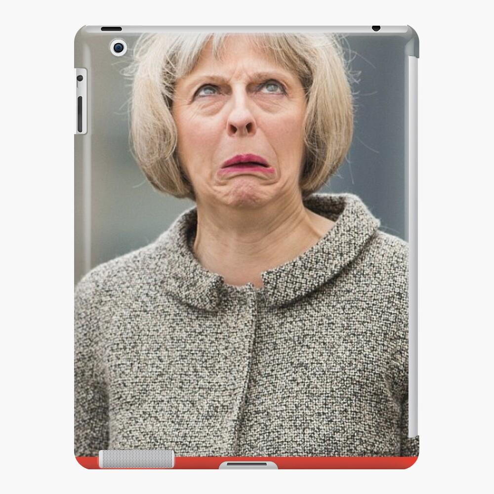 Camiseta Theresa MAY Funda y vinilo para iPad