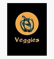 Veggies: Bell Pepper Photographic Print