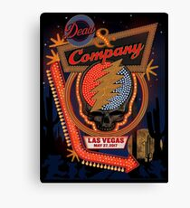 Dead Company May 27th 2017  MGM Grand Garden Arena Las Vegas NV2  Canvas Print