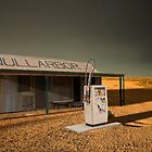 Storm Over Nullabor Road House by David  Hibberd