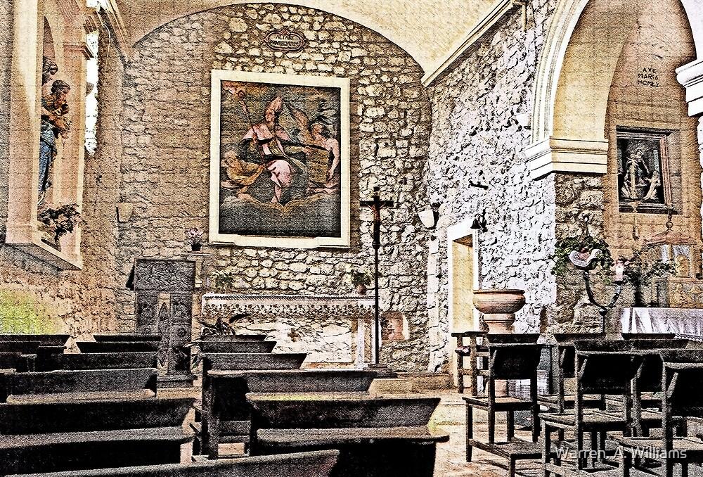 The Chapel by Warren. A. Williams