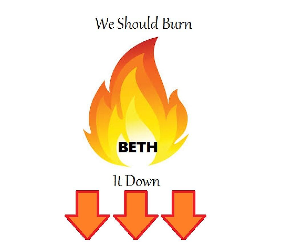 Burn It Down | The Walking Dead by sskilers