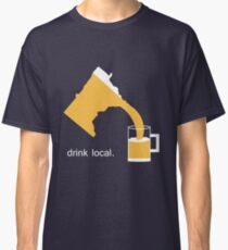 Drink Local Beer Minnesota T-Shirt Classic T-Shirt