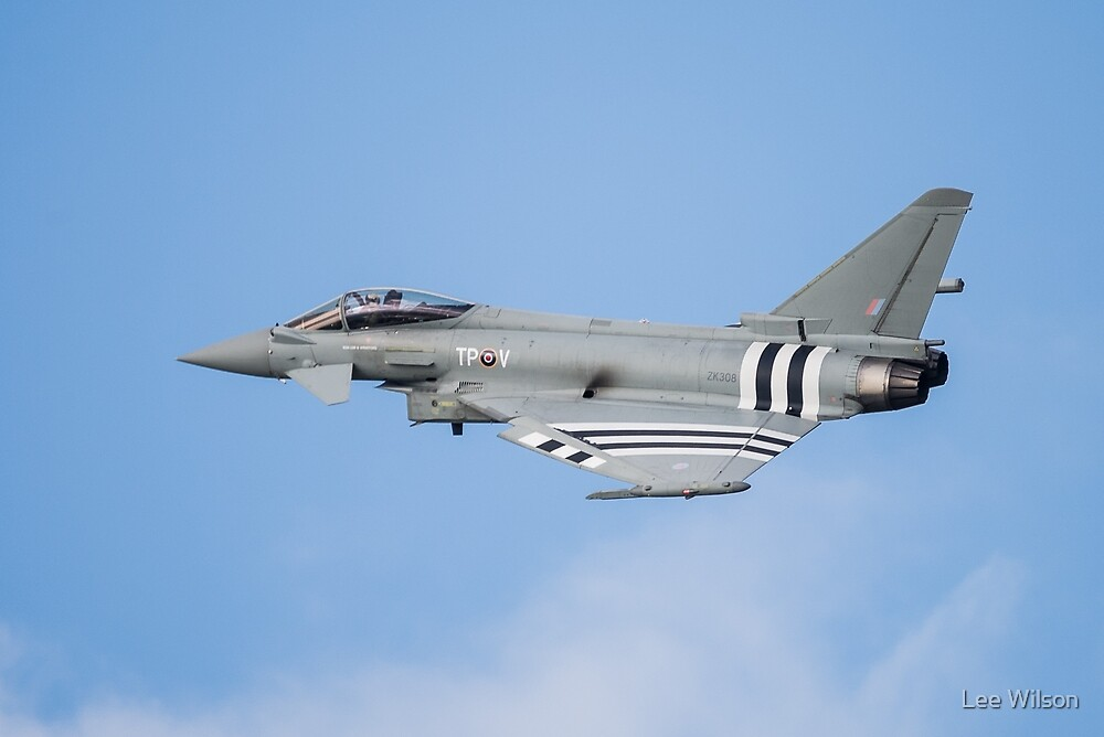 ZK308-TPV D Day Eurofighter Typhoon by Lee Wilson