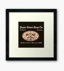 Paper Street Soap Co. Framed Print