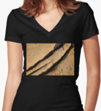 Shadows of Eons Women's Fitted V-Neck T-Shirt