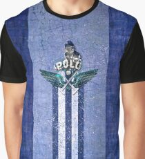 poloplayer blue Grafik T-Shirt