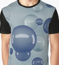 Flying Bubbles Graphic T-Shirt