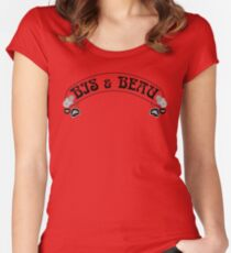 LTD EDITION BIS & BEAU THROWBACK Women's Fitted Scoop T-Shirt