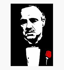 The Godfather Flower Photographic Print