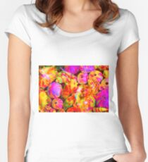 Tie Dyed Shells Women's Fitted Scoop T-Shirt