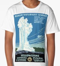 YELLOWSTONE NATIONAL PARK Long T-Shirt