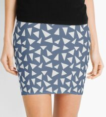Stripey Triangles Mini Skirt