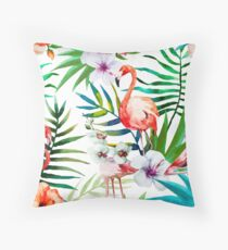 Tropical Animals vol.1 Throw Pillow