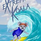 Extreme Koala - Surfer by Colin Wells
