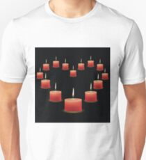 pink candles Unisex T-Shirt