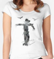 Scarecrow Women's Fitted Scoop T-Shirt