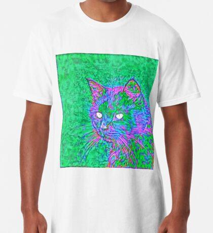 Ninja Cat, Predator Long T-Shirt