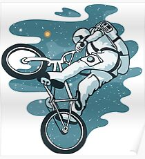 Space Bike Poster