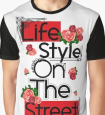 Life Style Graphic T-Shirt