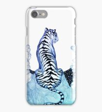 Ombre Tiger Moon iPhone Case/Skin
