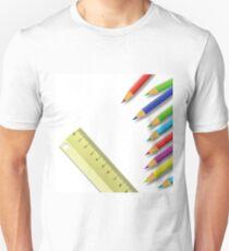 ruler and pencils T-Shirt