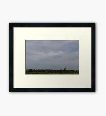 HDR Composite - Iron Sky Framed Print