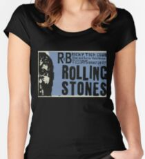 Vintage ROLLING STONES - Ricky Tick R&B club residency - [b] Women's Fitted Scoop T-Shirt