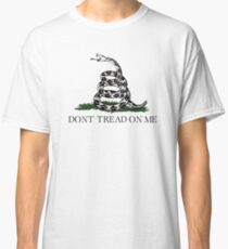 Don't Tread On Me T-Shirt Classic T-Shirt