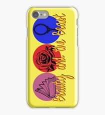 Beauty and the Beast (logo) iPhone Case/Skin