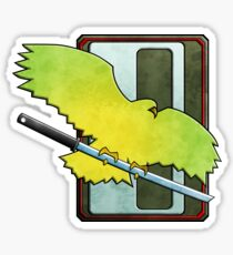 Clan Jade Falcon Sticker