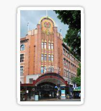 Art Deco shopping - Brisbane Sticker