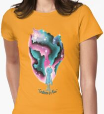 existence is pain Womens Fitted T-Shirt