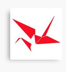Origami Crane Abstract  Canvas Print