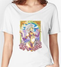 Magical Manga Mushroom Witch Women's Relaxed Fit T-Shirt