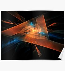 Triangular abstraction Poster