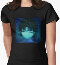 Static VHS Womens Fitted T-Shirt
