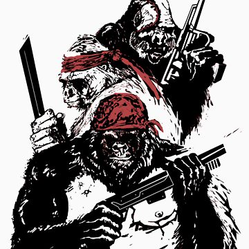 Guerrilla Gorillas by Paramo