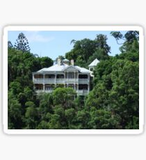 Brisbane riverside mansion Sticker