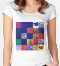 Yves Klein Women's Fitted Scoop T-Shirt