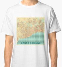 Santo Domingo Map Retro Classic T-Shirt