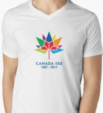 canada 150 Mens V-Neck T-Shirt