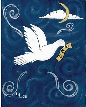 Dove of Peace by Leslie Hope Galloway