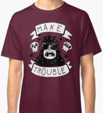 Make trouble - anarchy gorilla Classic T-Shirt