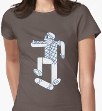 skater Womens Fitted T-Shirt