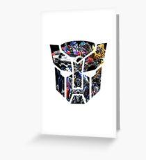 Autobot logo Greeting Card