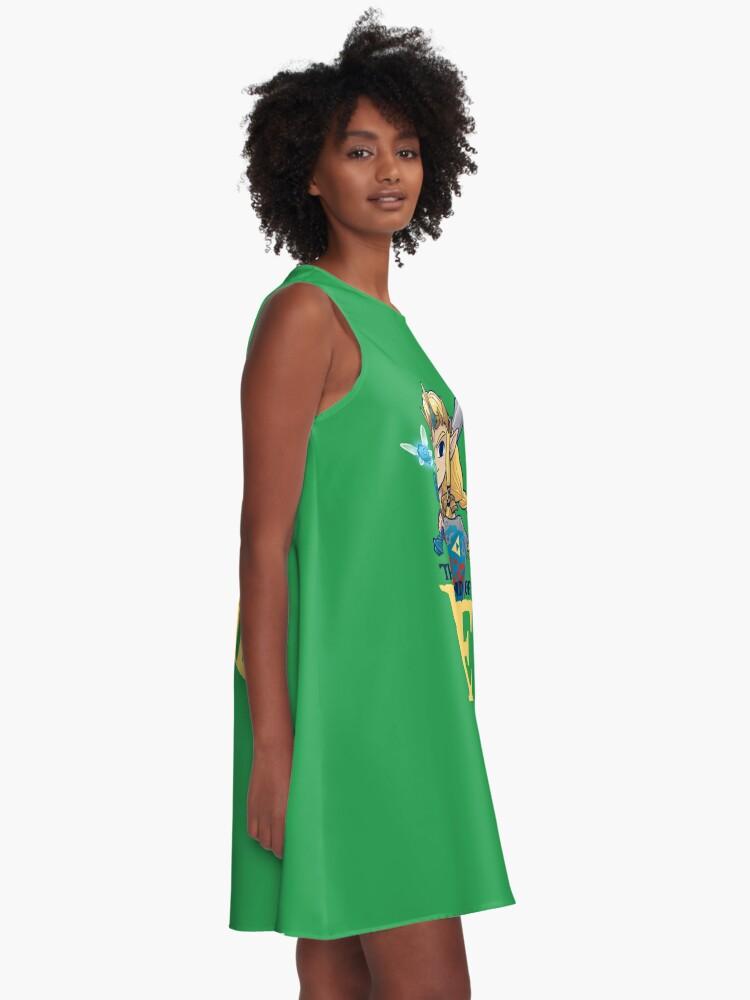 Alternate view of Legendary A-Line Dress