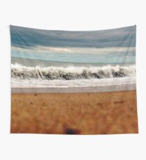 Rolling New England Waves Wall Tapestry