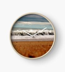 Rolling New England Waves Clock